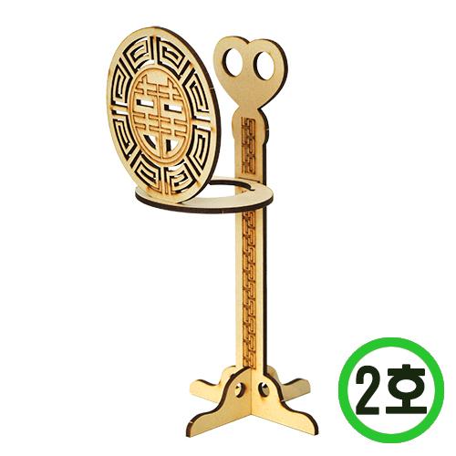 전통 촛대2호(12개입) 9.6x21cm *W-06-105