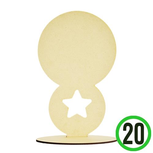 별 캐릭터판(20개입) 15.3x24.5cm *  W-06-106