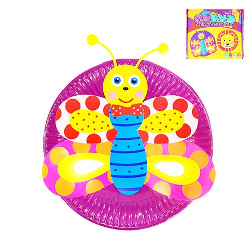 종이 접시꾸미기 10종*나비 Y-04-103
