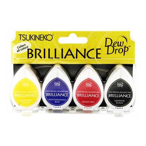 브릴리앙스세트 듀트롭 BD-100-001*BRILLIANCE DEW DROP FOUR-PACKS