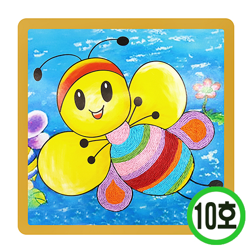 DIY지끈꾸미기10호*꿀벌*(10개입) Y-06-304