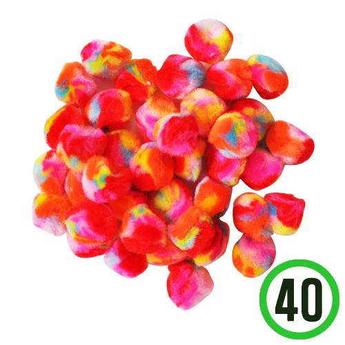 보송이모루*롤리팝*25mm(40개입) E-07-301