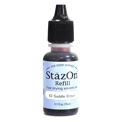 (냅스) 스테이존 리필잉크 SZR-43*STAZON INKER 15ml