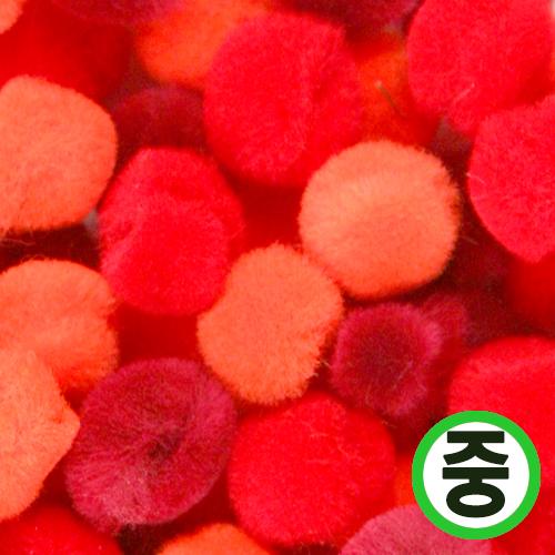 보송이모루*그라데이션*중*빨강*2.0cm(45개입) D-06-210