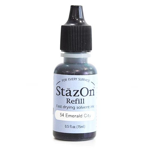 (냅스) 스테이존 리필잉크 SZR-54*STAZON INKER 15ml