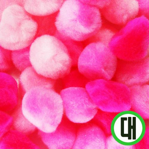 보송이모루*그라데이션*대*핑크*2.5cm(30개입) D-07-211