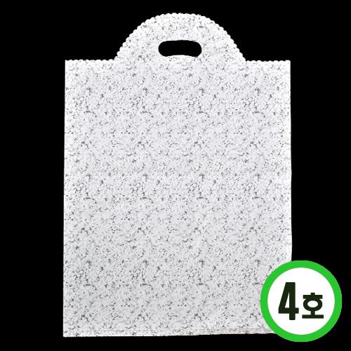 판매용 포장비닐4호*하양*35x50cm(50장입) *W-07-103