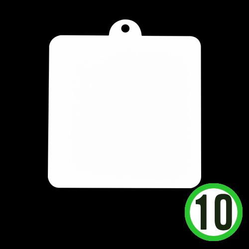 종이데코판 정사각 12.5x12.5cm(10개입) *L-08-103