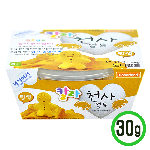[도너랜드] 칼라점토 30g*빵색 (H-04-02)
