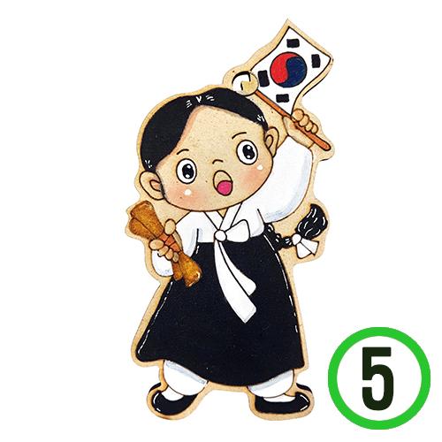 *팬시소품 유관순 5.5x11cm (5개입) U-03-107