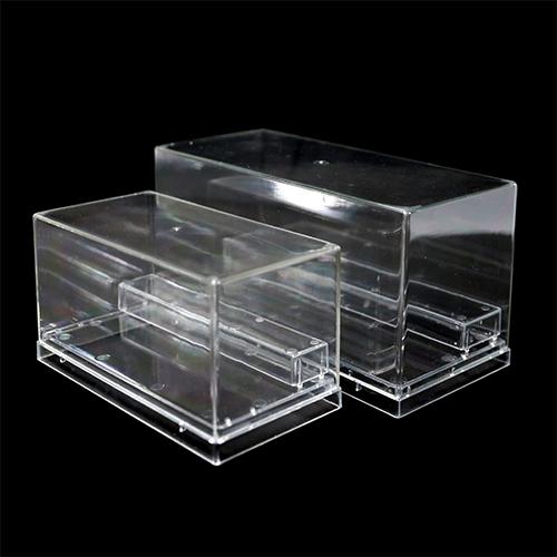 아크릴투명케이스 직사각(대)+(소) 20x9x10+15x8x8cm N-11-201