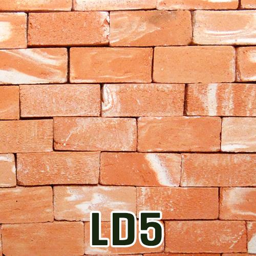 도자기타일LD5(흰무늬붉은색)*12x5x5mm*(100개입)