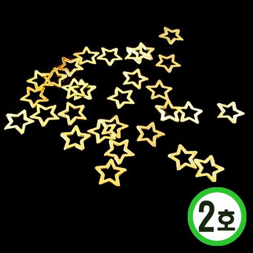 네일아트용 파츠 2호*골드*별*대(30개입) C-07-215
