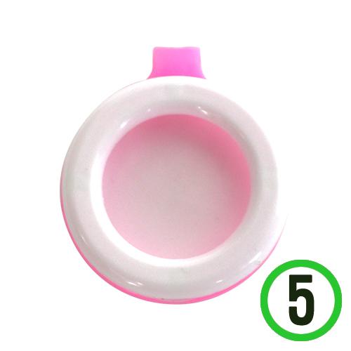 모기 퇴치용 클립 *핑크* 3.5x4cm (5개입)  Q-08-104