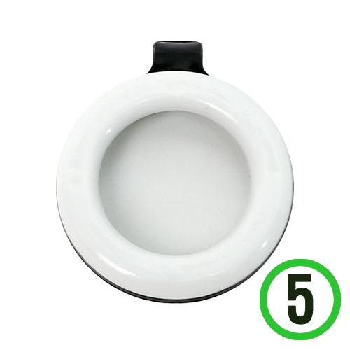 모기 퇴치용 클립 *검정* 3.5x4cm (5개입) Q-08-103