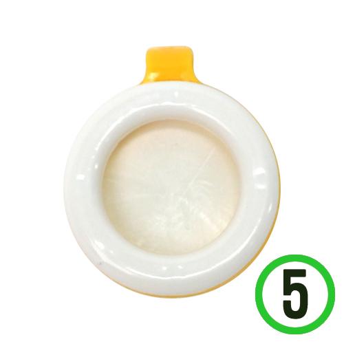 모기 퇴치용 클립 *노랑* 3.5x4cm (5개입) Q-08-101