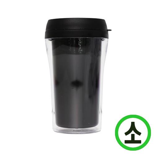 DIY 꾸미기컵 텀블러 (소) 검정 7.5x13.5cm   V-11-01