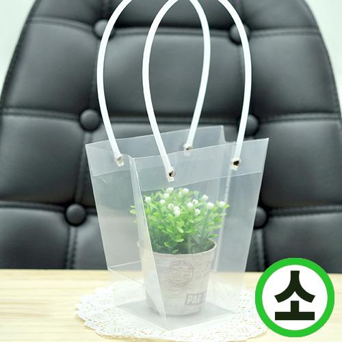 투명가방*PVC 소 16*16*8cm (10개입) Q-01-303