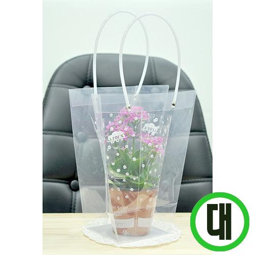 투명가방* PVC 대 24*26*11cm (10개입) Q-01-302