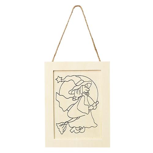 (냅스) 한정판매 *원목 인쇄 액자* 날으는 마법사  K-01-207