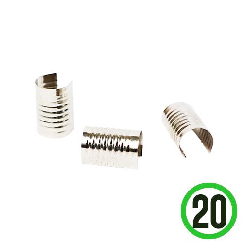 팔찌 이음새 부속 0.9x1.4cm(20개입)   E-04-233