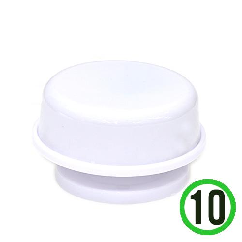 칼라오르골*하양*엘리제(10개입)A형+B형받침대(10개입)(지름9cm 높이5cm) *L-09-204