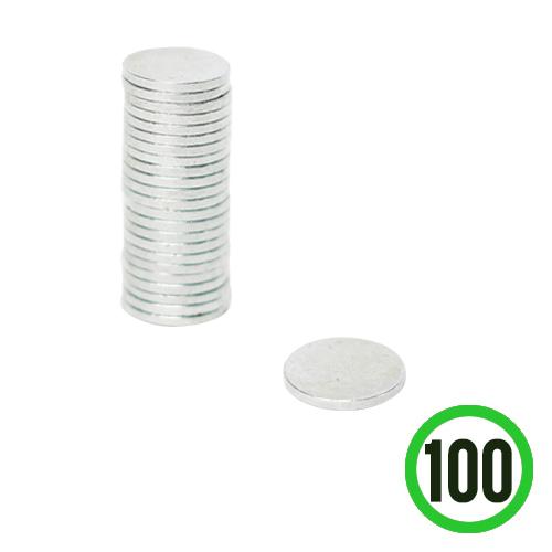 은나노자석 지름10mm 두께1mm(100개입) D-07-119