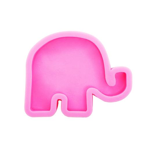 SM-030 *실리콘몰드*코끼리*12x9.6x1.8cm     D-01-202
