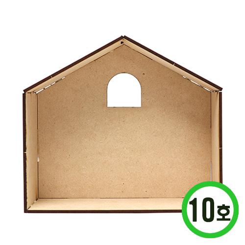 DIY 하우스시리즈 10호* 18.5x7x16.5cm (2개입) N-02-01