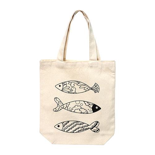 (MH) 민화 신발주머니 *물고기* 23*30cm