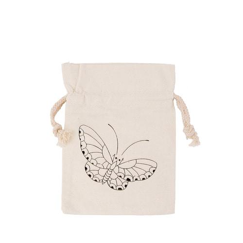 (MH) 민화 복주머니 *나비*16*22cm