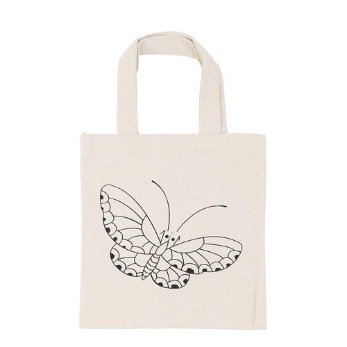 (MH) 민화 미니 에코백 *나비* 22*25cm