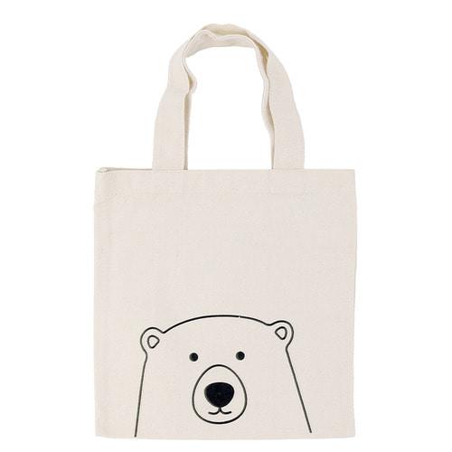 (MH) 민화 미니 에코백 *곰* 22*25cm