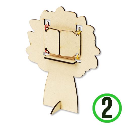 탁상 창문 나무 (2개입) P-09-02