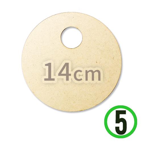 LED용*원형데코판*14cm*두께3mm(5개입) L-06-02