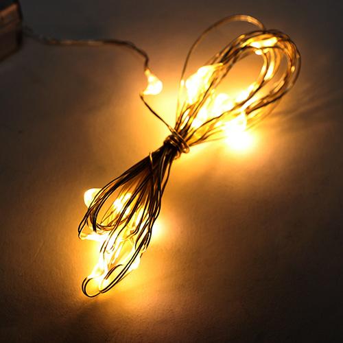 LED조명*노랑*20구*2m N-04-02