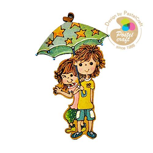 팬시소품*M-034 *우산속 커플 Y-01-147