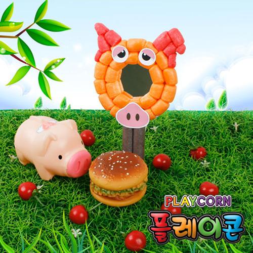 [플레이콘]돼지손거울만들기(5인용) A-10-208