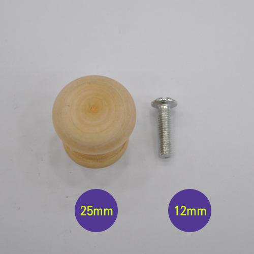 로구로*소*직경25mm MDF 12mm용(부자재)(15-B-1)