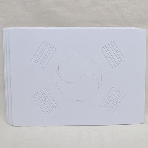 태극기퍼즐 29*21cm (5장입)  P-09-101